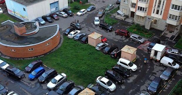 Стоянка в жилых районах столицы стала оплачиваемой
